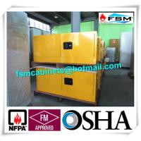 Steel Flammable Safety Cabinets With Double Doors For Hazardous Material Storage