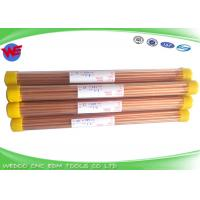 Wholesale Single Hole EDM Copper Electrode 5.0x400mmL For Small Hole EDM Drilling Machine from china suppliers