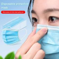 China 3 Layer Disposable Surgical Mask Hypoallergenic Dental Masks For Protection on sale