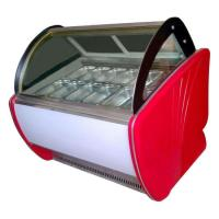 1500mm Back Door Ice Cream Showcase Freezer 480L Capacity Auto Defrost Type for sale
