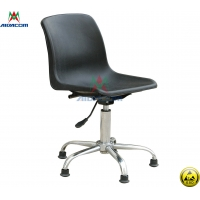 Wholesale PU Leather 100kgs Load Used Antistatic Lab ESD Chairs from china suppliers