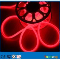 Wholesale red color 360 degree 16mm round led neon flex lights 110V IP67 for outdoor Christmas decoration from china suppliers