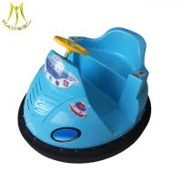 China Hansel coin operated mini bumper car seat entertainment center battery bumper car on sale