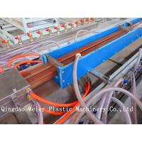 Best Single / Double Screw Wpc Profile Extrusion Line With CE Certificate 380V 50HZ wholesale