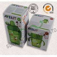 Quality Milk Bottle Colored Corrugated Packaging Boxes , Custom Sized Cardboard Boxes for sale