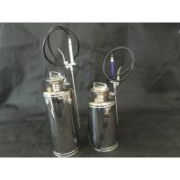 Quality Small Stainless Steel Hand Pump Sprayer / Automatic Metal Tank Sprayer for sale