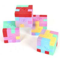 Wholesale 3D Puzzle Cube Eraser For Kids As Toys from china suppliers