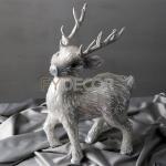 China Christmas Deer Handmade Craft Reindeer Decaration for sale