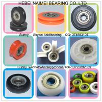 Buy cheap customized plastic window rollers with bearings U groove pulley from wholesalers