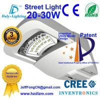 LED Street Light 20-30W with CE,RoHS Certified and Best Cooling Efficiency Road Lamp Made in China