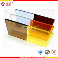 China clear heat resistant plastic acrylic sheet on sale