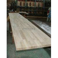 China Oak solid wood finger jionted worktops countertops table tops butcher block tops kitchen tops on sale
