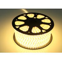 Wholesale Warm White High Voltage LED Strip For Holiday / Wedding AC 220V Input from china suppliers