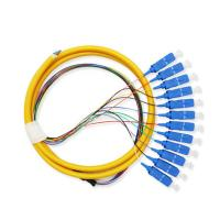 Wholesale 12 Core Fiber Optic Patch Cord Pigtail Sc Connector For Telecommunication Equipment from china suppliers