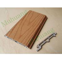 China Q002 Wood Plastic Composite Wall Panel, Outdoor WPC wall panel, Easy Installation and Environmental Friendly on sale