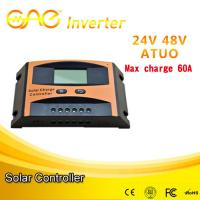 China China original design60A pwm charge controller,pwm solar charge controller  48v24v auto for sale