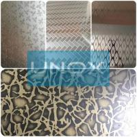 Wholesale 304 Bronze Color Stainless Steel Sheet Hairline Finish-lUnox Color Stainless Steel Sheets Plate from china suppliers