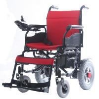 China Popular Fold Up Disabled Electric Wheelchair , Motorized Chairs For Handicapped on sale