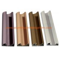 Wholesale C Shaped Aluminium Cabinet Door Profiles Lightweight For Crystal Steel Shutter from china suppliers