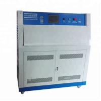 China Uv Accelerated Aging Test Machine Touch Screen Uv Lamp Accelerated Weathering Tester for sale