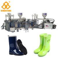 Wholesale Automatic Rain Shoes Making Machine Production Line , Rotary Injection Molding Machine from china suppliers