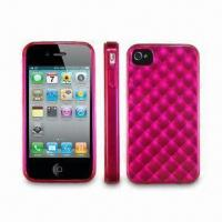 Wholesale TPU Cases for Apple's iPhone 4, Available in Various Colors from china suppliers