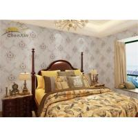 Jacquard Weave Pattern Fabric Wall Covering Wallpaper For Living Room