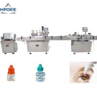 Wholesale High Accuracy Bottle Filling Capping And Labeling Machine For Eye Drop from china suppliers