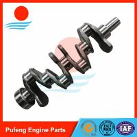 Wholesale construction machinery crankshaft exporter, forged steel crankshaft 4TNV94 4TNV98 YM129902-21000 for Volvo EC55BLC from china suppliers