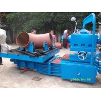 China Electric Pipe Beveling Machine , Hydraulic Tee Forming Machine Processing Size 12-24 on sale