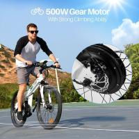 Wholesale 26 Inch Foldable Electric Battery Powered Bicycles For Mountain Ride / Commuting from china suppliers