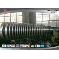 Buy cheap Steam Turbine Rotor Steel Forging Process With Grooving , Forging Stainless from wholesalers