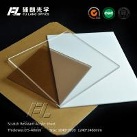 Wholesale High Gloss Anti Glare Acrylic Sheet Hard Coating Apply To Aluminum Extrusion from china suppliers