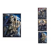 China 3 Different Images Of Grim Ripper  Lenticular Flip With 30x40cm For House Decoration on sale