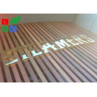 China AC 100 - 245V LED Channel Letter Signs Energy Saving For Decoration Signature on sale