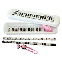 Wholesale Special Piano Cool Pencil Cases Printed For Girls from china suppliers