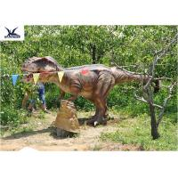 Outside Realistic Giant Dinosaur Statue For Jurassic Dinosaur World Decoration