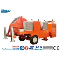 China Overhead Line Stringing Equipment 2x45kN/1x90kN Hydraulic Cable Stringing Puller Tensioner for sale