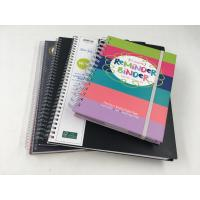 China Woodfree Paper Notebook Printing Services Hard Cover Wire - O Bound Academic Monthly Planner for sale