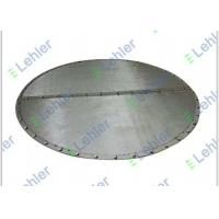 China High Filtration Rate sintered mesh Internals , 5 Micron Ssintered mesh plate for sale