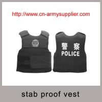 China Wholesale Low Price Bulletproof Polypropylene PP Stab proof vest on sale