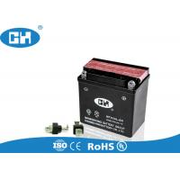 Wholesale High Capacity 125cc Motorcycle Battery 12v 5Ah  Low Self - Discharge High Cycle Count from china suppliers