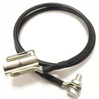 China 500MΩ 7 / 8 ″ Coaxial Cable Grounding Kit For Telecom Cable  Spring / Clamp Strap Type on sale