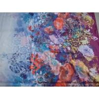Wholesale Flora Print Silk Fabric from china suppliers