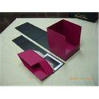 Promotional Gift Foldable Printed Cosmetic Rectangle Cardboard Boxes for Women for sale