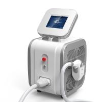 Wholesale Portable 808nm Diode Laser Hair Removal Machine 12mm * 12mm Spot Size from china suppliers