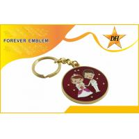 Wholesale Gold Plating Soft Enamel Metal Promotional Keychains For Wedding Party from china suppliers