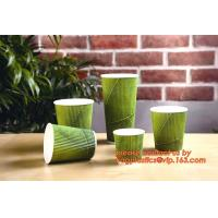 China 8oz/12oz/16oz/20oz disposable hot drink coffee paper cup with lid and sleeve on sale
