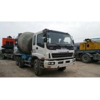 USED Isuzu concrete  Mixer  truck with 10PE1