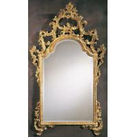 Wholesale 2012 decorative golden framed bath mirror from china suppliers